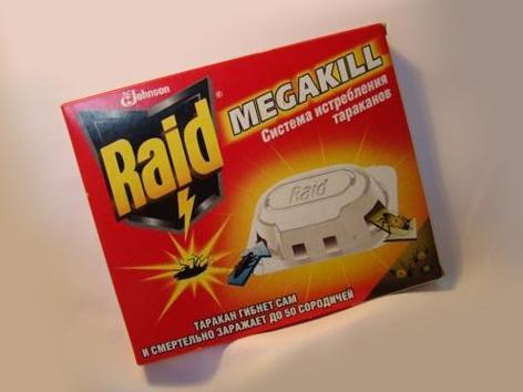Рейд как средство от тараканов