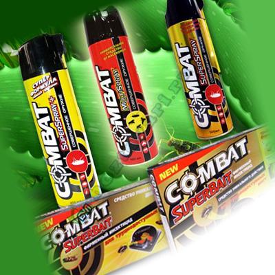 Инсектицид от тараканов - препарат Комбат