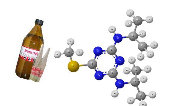 Препарат прометрин от блох в капсуле