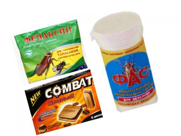 Различные средства от тараканов