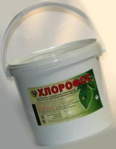 Как выглядит хлорофос