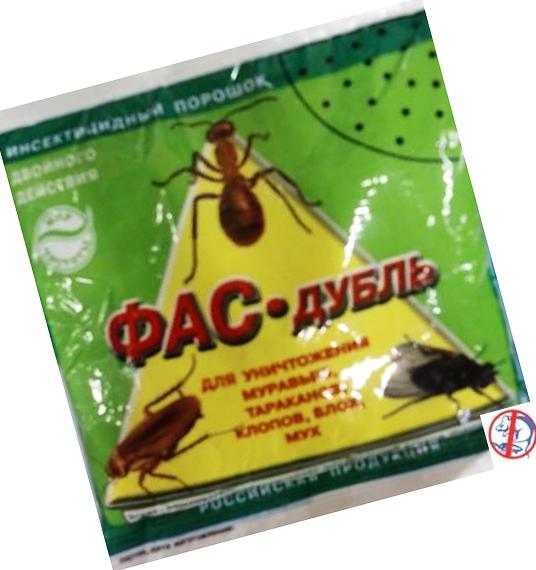 Фас дубль для борьбы с различными видами насекомых