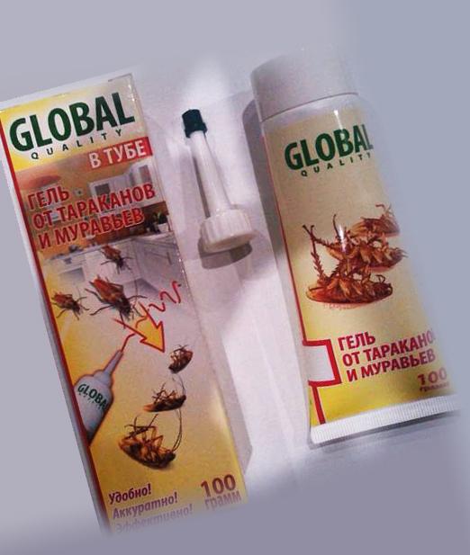 Глобал и борьба с муравьями
