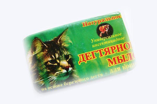 Дегтярное мыло для кошек