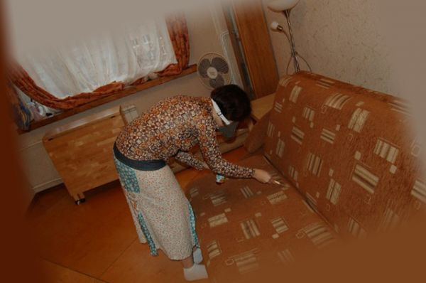 обработка дивана