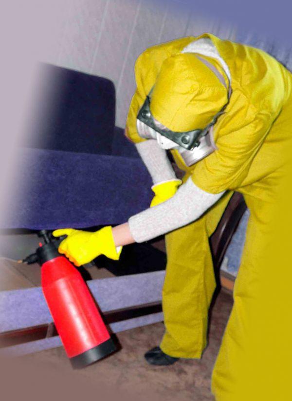 Мероприятия перед химической обработкой