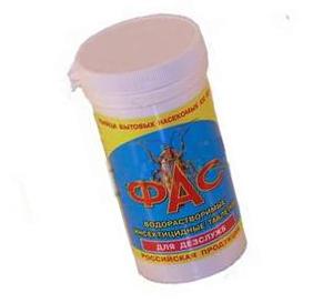 Инсектицид от тараканов Фас