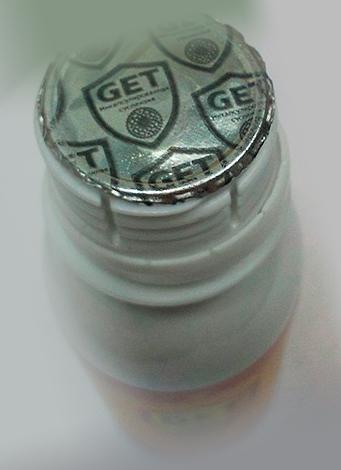 Открытая упаковка средства от блох Гет