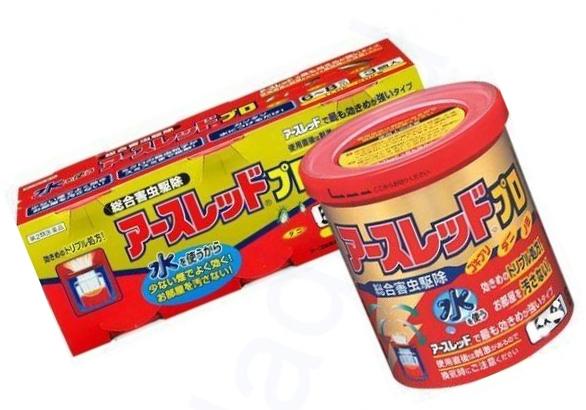 2 вида японских дымовых шашек