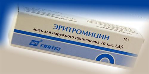 эритромициновая мазь от укусов клопов