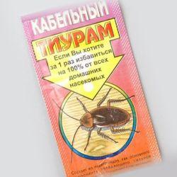 Безвреден ли Тиурам от тараканов для животных и людей?